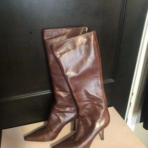 "Jimmy Choo ""Peony"" knee high boots"